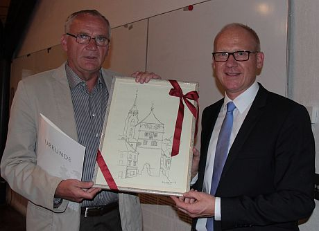 OB Broß verabschiedet Dr. Gerhard Aden