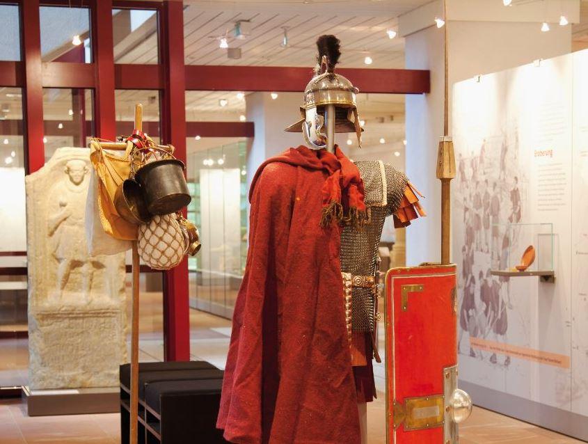 Ausstattung eines römischen Legionärs