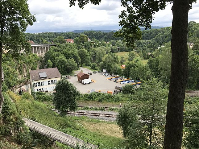Perspektive Blick ins Neckartal (vorher)