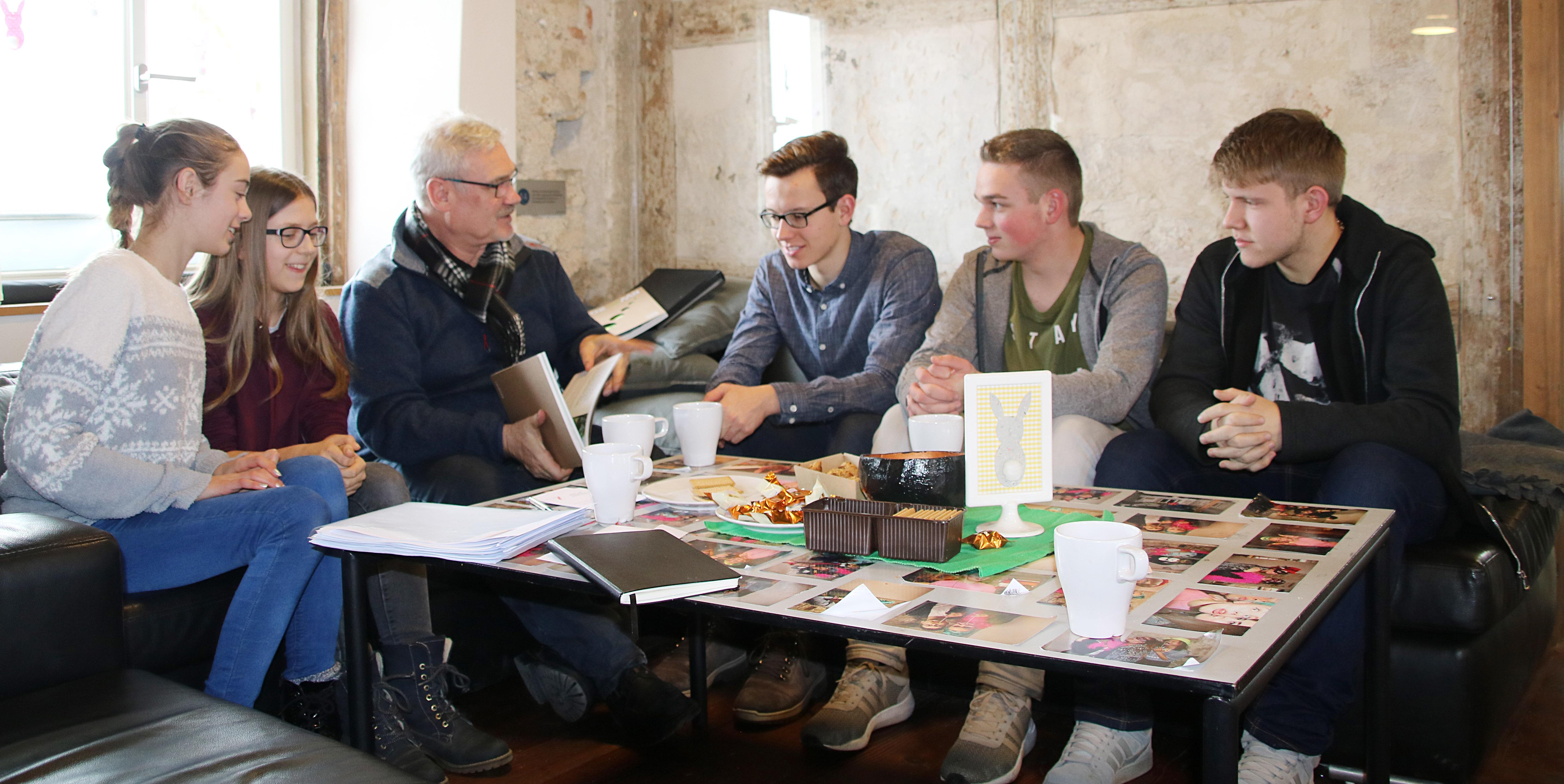 Arbeitsgruppe Jugendhearing Landesgartenschau
