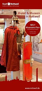 Flyer Kunst und Museen in Rottweil