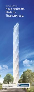 Flyer Testturm