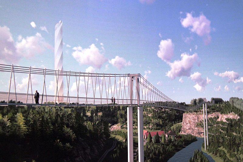 Impressionen Hängebrücke Rottweil
