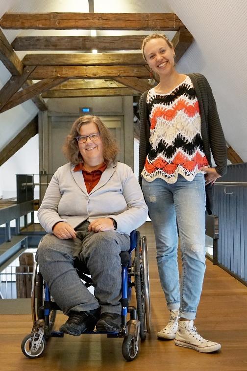 Ruth Gronmayer und Nadja King