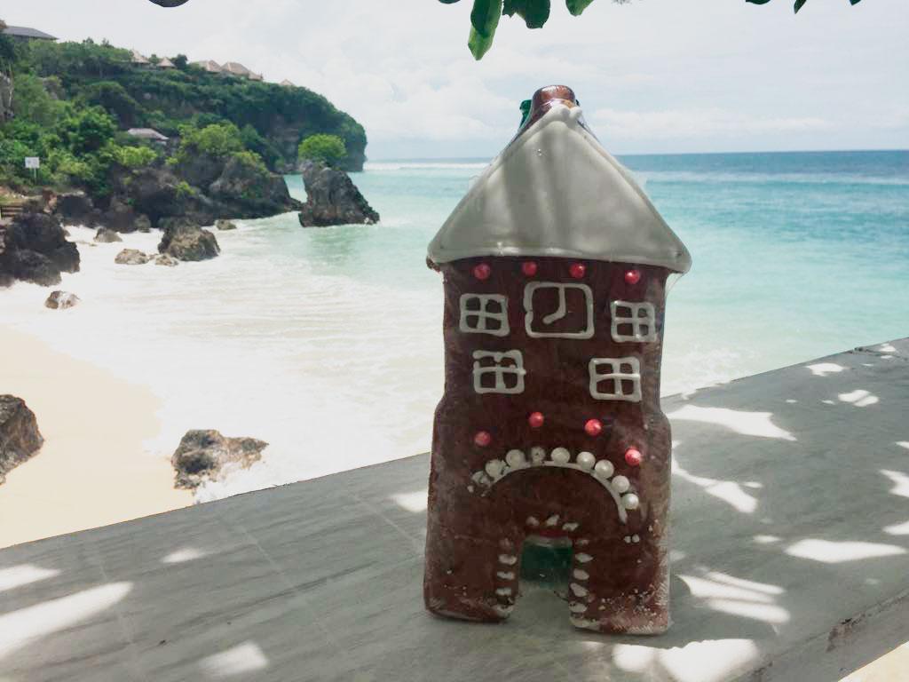 Schwarzes Tor auf Bali :-)