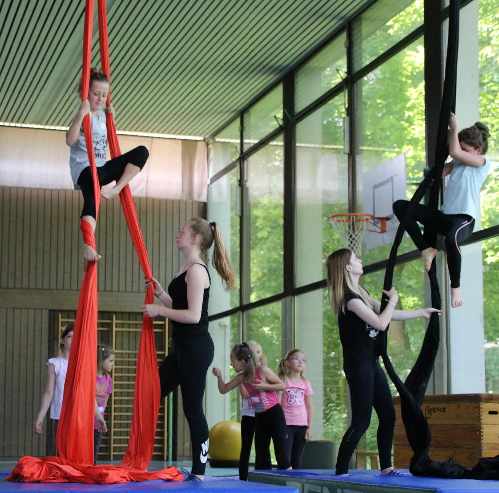 Das KiJu und Solifer bieten in den Osterferien einen inklusiven Mitmach-Zirkus an (Archifoto: KiJu).