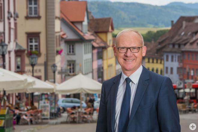Künftig im Hauptausschuss des Deutschen Städtetags: Rottweils OB Ralf Broß (Foto: Stadt Rottweil).