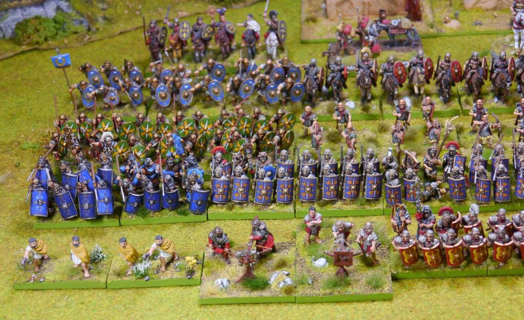 Roms Legionen treten beim Museumstag im Dominikanermuseum an – allerdings in Miniaturgröße als Zinnfiguren (Foto: Ronald Schlaich).