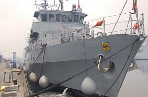 Minentauchereinsatzboot