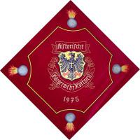 Wappen auf Vereinsfahne