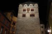 Die Beleuchtung am Schwarzen Tor wird am Samstag zur Earth Hour ausgeschaltet. Auch Kapellenturm, Hochturm und Altes Rathaus werden in die Aktion des WWF einbezogen (Foto: Stadt Rottweil).