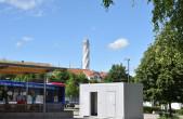 Ein WC-Container wurde kürzlich am Busparkplatz Nägelesgraben aufgestellt, da die bisherige WC-Anlage für die große Anzahl an Touristen nicht mehr ausreicht. Foto: Stadt Rottweil