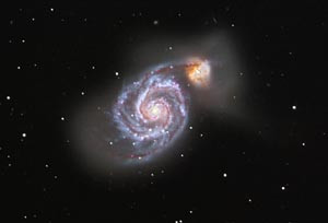 Galaxy M51 (Bild P. Knappert)