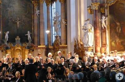 Chor der Predigerkirche Oktober 2013