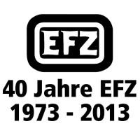 Logo 40 Jahre EFZ