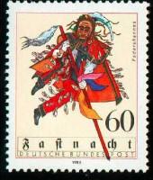Federahannes-Briefmarke