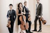 """Das Stradivari Quartett gastiert am Sonntag, 31. März, um 17 Uhr im Kapuziner in Rottweil im Rahmen der Reihe """"Dreiklang"""". Karten sind ab sofort erhältlich (Foto: Stradivari Quartett)."""