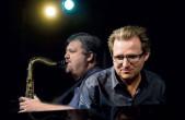 Die hohe Kunst des Duos: zwei absolute Ausnahmemusiker im Dialog (Foto: Johannes Mössinger).