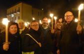 Gedenken an Erdbeben in L'Aquila: Fackelumzug zum Gedenken an die 309 Toten