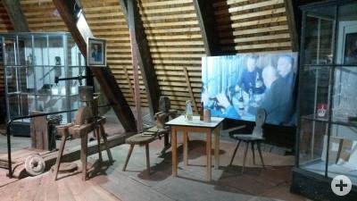 Salinenmuseum Rottweil, Ausstellung im Rundbehälter