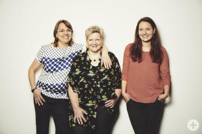 Renate Weiler, Hanne Blust, Sarah Link