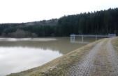 Probestau Hochwasserrückhaltebecken Neufra