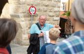 Gästeführungen im Freien finden wieder statt