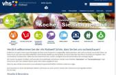 Die neu vhs-Homepage ist online.