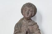 """Die Sandsteinfigur """"Die Hoffnung"""" vom Rottweiler Marktbrunnen ist nur eines der zahlreichen Exponate aus der Kunstsammlung Lorenzkapelle (Bild: Hak-Design)"""