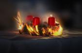 Die Feuerwehr Rottweil gibt Tipps für ein sicheres Weihnachtsfest.