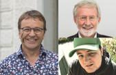 Heinrich del Core, Werner Mezger und Joo Aiple moderieren Narren-TV