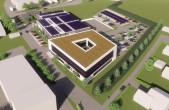 Erste Visualisierungen des neuen Unternehmensstandorts der ENRW in Neufra.