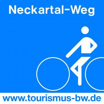 Markierung Neckartal-Radweg