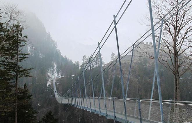 Hängebrücke von Reutte
