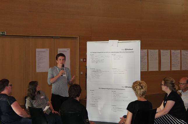 Impressionen Dialoggruppe