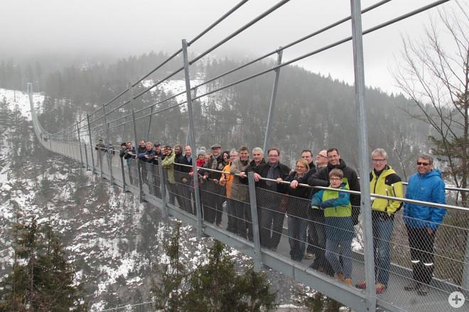 Hängebrücke Reutte