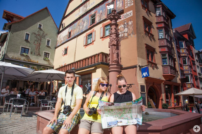 Touristen in Rottweil