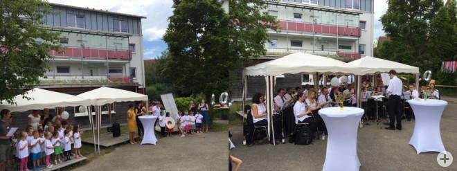 Der Kindergarten feierte mit einem bunten Fest sein 20-jähriges Bestehen.