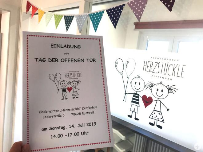 """Der Kindergarten """"Herzstückle"""" öffnet am Sonntag seine Türen (Bild: Kindergarten Zepfenhan)."""