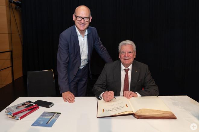 Impressionen Vortrag Joachim Gauck (Foto: Ralf Graner)
