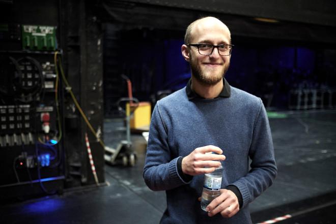 Der neue Stadtschreiber Alex Burkhard (Foto: Marvin Ruppe).
