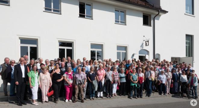 """Als Dankeschön für ihre ehrenamtliche Arbeit hatte OB Ralf Broß über 140 Engagierte zum """"Tag für Ehrenamtliche 2019"""" eingeladen (Foto: Stadt Rottweil)."""