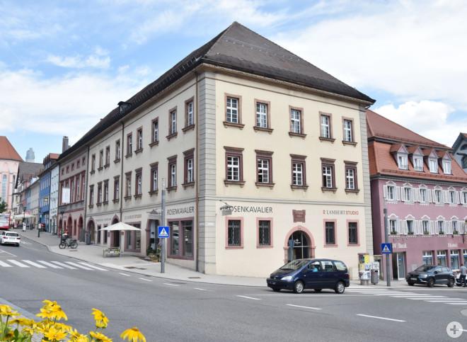 Das Alte Kaufhaus wird ab Mitte August saniert (Foto: Stadt Rottweil).