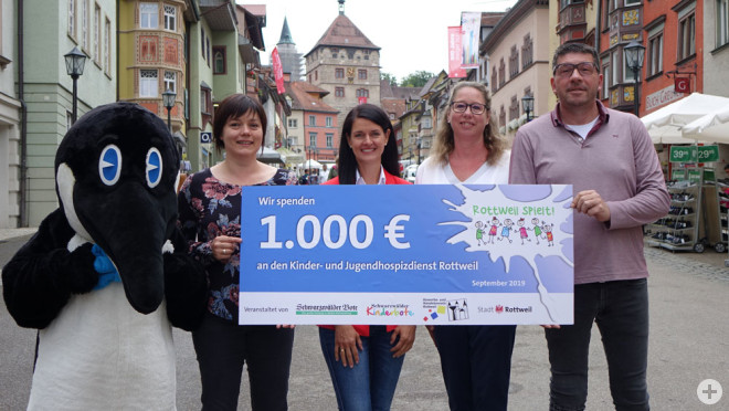 Kinder- und Jugendhospiz freut sich über 1000 Euro / Spieletag feiert 2020 zehnten Geburtstag