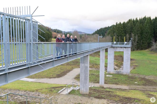 Einweihung Hochwasserrückhaltebecken