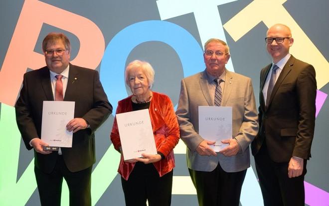 Verleihung der Bürgermedaille 2020