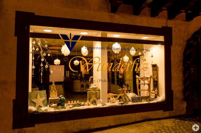 Rottweil suchte das schönste Weihnachts-Schaufenster – and the winner is: das Café Wunderfitz am Friedrichsplatz (Foto: Ralf Graner).